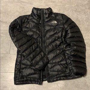 North Face Black Down Coat M